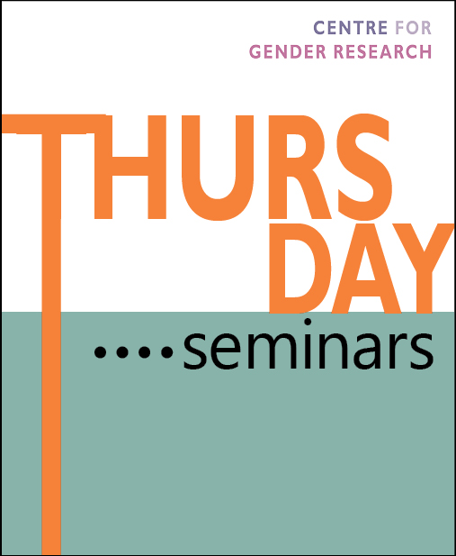 Thursday seminar: Once upon a time/place
